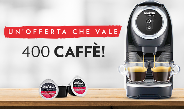 Lavazza in Black Elogy Mini - Capsule in Black - Nims